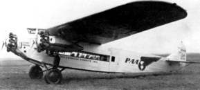 Fokker F.10a from Pan American Airways who flew between Key West and Havana, Cuba, a route over 110 miles of sea