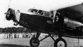 Fokker F.XII snipe, the first flight to the Dutch West Indies