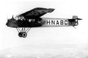 The first KLM F-II with Siddeley Puma engine