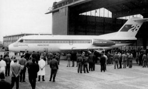 Fokker F.28 Roll-out, april 4, 1967