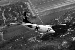 Fokker F.50 DLT, photo presented by Fokker company