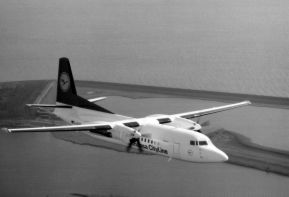 Fokker F.50 Lufthansa, photo presented by Fokker company