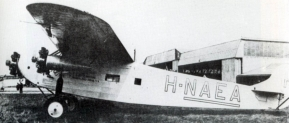 The Fokker F.VIIa 3m Postduif, completed a succesfull returnjourney to the Dutch East Indies, 1-18 october 1927