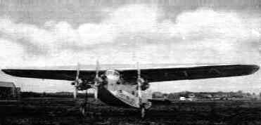 Fokker F.VII-3m at Soesterberg airfield