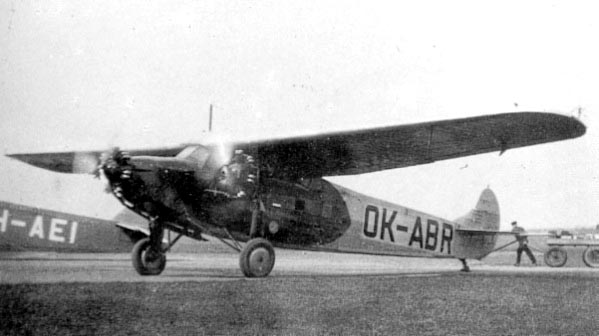 Fokker F.VIIb-3m OK-ABR built in licence by Avia in Chechoslovakia