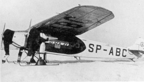Fokker F.VIIb-3m c/n3 build in Poland. This is the third aircraft from a serie of 20, the SP-ABC