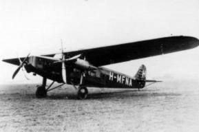 Fokker F.VIII delivered to Hungary