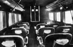 Fokker F.8: the spacious cabin with mabogany sidewalls