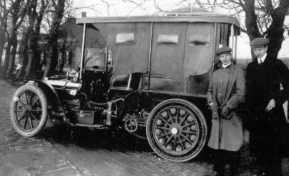 "Anthony invented the ""antiplofbanden"", carwheel tires that could not leak pressure"