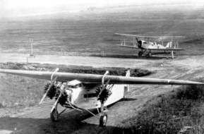 Fokker C-2 after landing