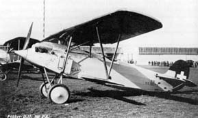 Fokker D.11 of the Swiss Airforce