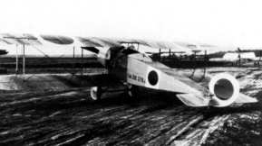 Fokker D.3/M.19K. This one of ten bought by the Dutch airforce department. It had orange cirkels on the side