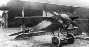 Fokker Dr.1, red painted and used by von Richthofen