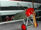 Replica of the Fokker Dr.1 at the Aviodome in Lelystad