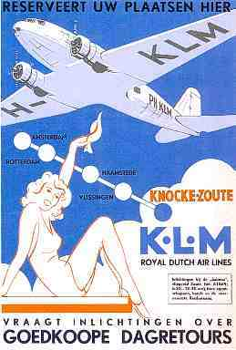 Poster for the promotion of national flights