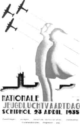 Poster for the promotion of the national youth air day