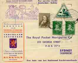 Special envelope and stamps (click to enlarge)