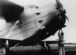 Jumbo freight aircraft used by KLM from 1931 till 1940. It was used on the service Amsterdam London and as a instructionaircraft. This Jumbo was destroyed in the bombing of Schiphol in 1940