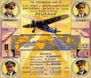 Promotional articel to rember the flight
