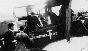 May 17th, 1920, KLM's first scheduled flight on arrival from London at Amsterdam Schiphol Airport. KLM and Schiphol have become household names firmly linked in everyone's minds throughout the world