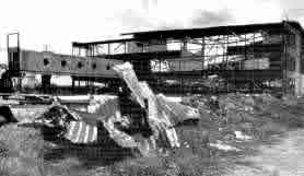 Schiphol 1940 after the bombing