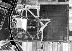 Schiphol overview in 1938