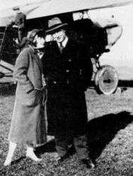 Iwan and his wife Margot after there honeymoon, 1925