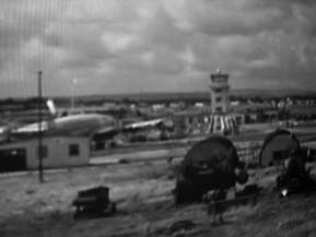 The airport of Shannon, 1954